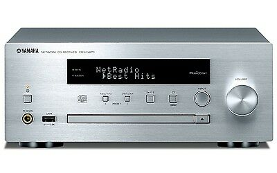 Yamaha CRX-N470 MusicCast WiFi Bluetooth Network CD Player Receiver - Like New