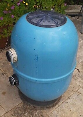Swimming Pool Sand Filter and Control Valve/Diverter