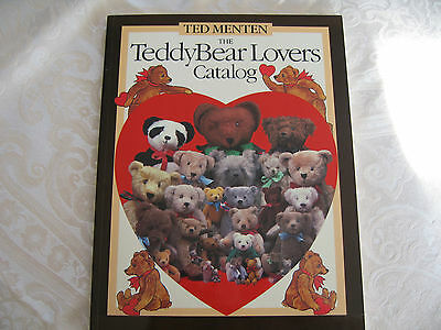 Teddy Bear Lovers Catalog book by  Ted Menten-1st printing-1983
