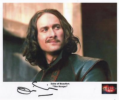 """The Musketeers Auto Photo Print Oliver Chris """"Duke of Beaufort"""""""