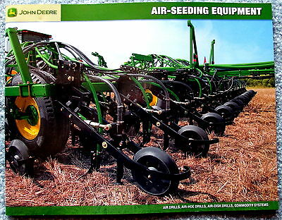 John Deere Factory Sales Brochure Air Seeding Equipment 2008  c