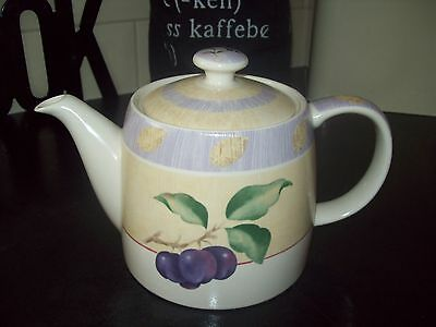 M&s Wild Fruits Teapot - Immaculate Condition