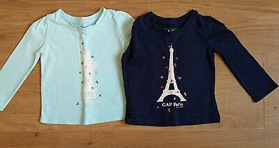 Gap Baby Girls Top Bundle Size 6-9 months