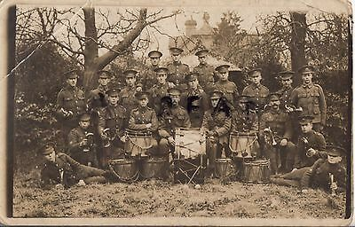 WW1 Soldier group 6th Battalion East Surrey Regiment regimental Band