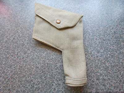 WW2 British 1925 Pattern Webbing Officers Pistol / Revolver Holster - RAF
