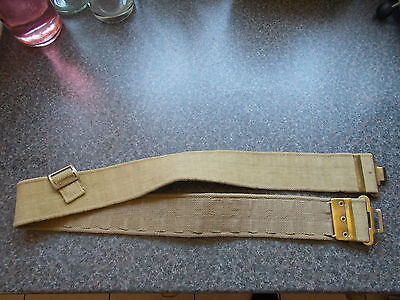 "WW2 Style British Army 1937 Pattern Webbing Belt 38 1/2"" - Lot 2"