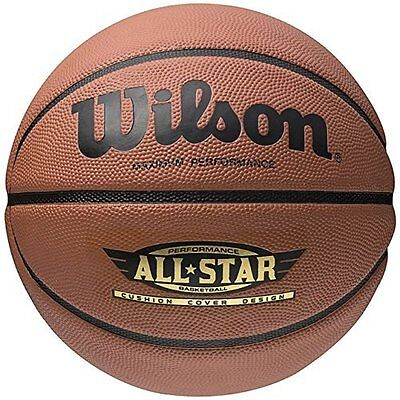 New Wilson Performance All Star Basketball Rubber Ball Official Size 7