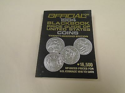 Official 1984 Blackbook Price Guide Of United States Coins