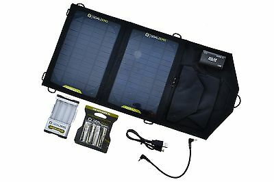 Goal Zero Nomad 7 Guide 10 Plus Solar Panel Battery Charger Outdoor Camping