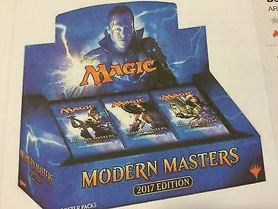 2017 Magic The Gathering Modern Masters Factory Sealed Booster Box With 24 Pks