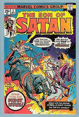 SON OF SATAN # 1 FNVF (7.0)  GLOSSY HIGHER GRADE- FIRST ISSUE- CENTS- 99p START
