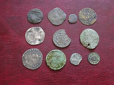 Hammered Sixpence Jetton Gun Money Coin Packet