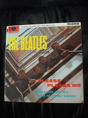 The Beatles - Please Please Me - LP PMC1202 IN-IN