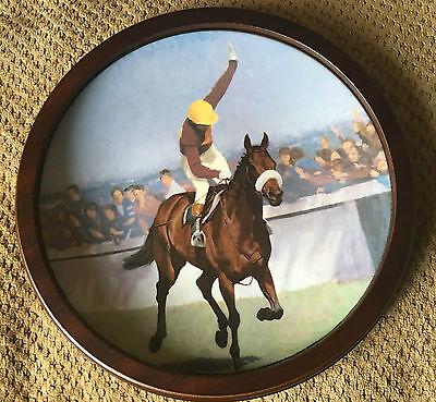 Royal Doulton Red Rum Large Plate Collector's Gallery Ltd Ed Roger Coleman Vgc