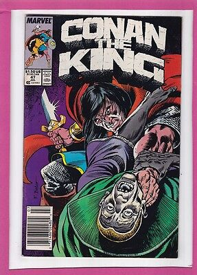 """Conan The King #47_July 1988_Fine+_""""of Death And The Dreamer""""!"""