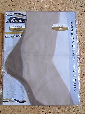 Beautiful Aristoc Vintage Fully Fashioned Seamed Stockings Allure Sz 8.5