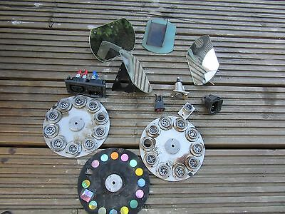 Job Lot Robe Scanner Mirrors, Gobos And Other Bits
