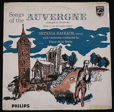 Philips A 04300 L. Canteloube, Songs Of The Auvergne - Classical LP Record Album