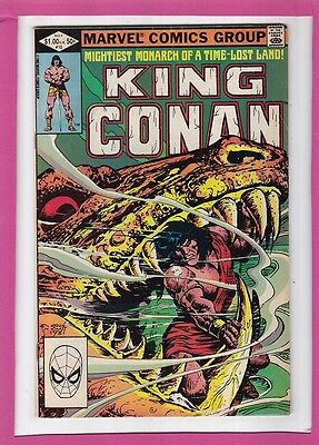 """King Conan #10_May 1982_Fine/very Fine_""""the Fang Of Set""""_Bronze Age Marvel!"""