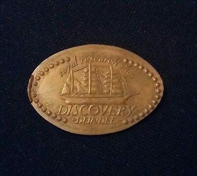 Flattened Penny Royal Research Ship Discovery Dundee