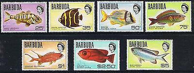 STAMPS  BARBUDA 1968 MARINE LIFE  (MNH)  lot BC 82