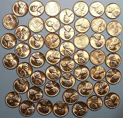 1953-D Lincoln Wheat Cent Roll United States Coins (17041912R)