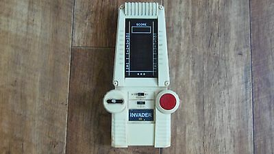 Vintage Galaxy Invader 1980's Hand Held Electronic Game Collectable