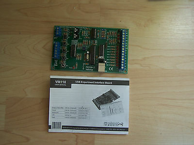 CARTE INTERFACE USB D'EXPERIMENTATION velleman VM110