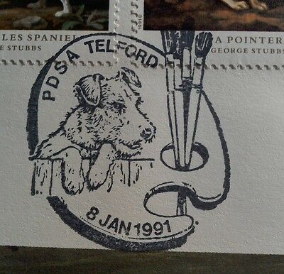 1991 Royal Mail Fdc - Great Handstamp - Crufts Dog Show - Pdsa Telford