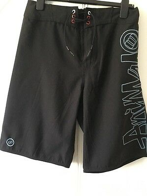 Men's Size Small Black Animal Swimming Shorts
