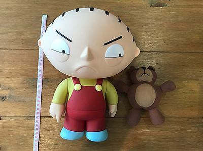 FAMILY GUY Deluxe Talking STEWIE with Rupert - RARE ITEM!