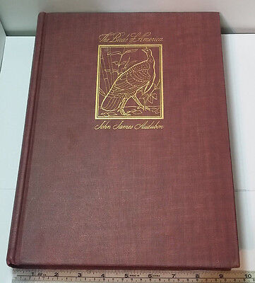 Vintage Book The Birds of America By John James Audubon Published 1944 Very Good
