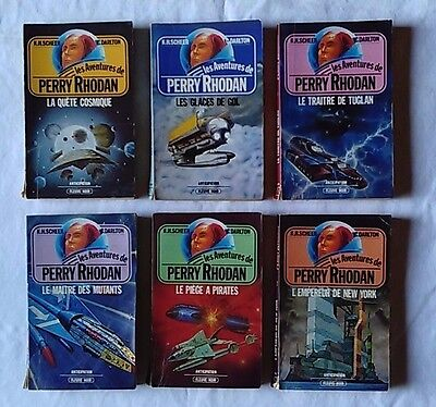 LOT 2  de 6 Perry Rhodan
