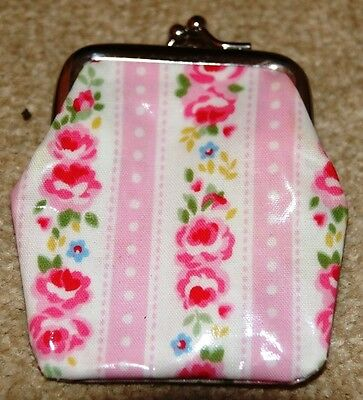 Cath Kidston Pink Rose Coin Purse