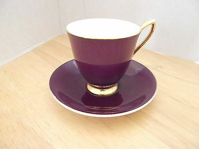 Vintage 50s 60s Royal Albert Gaiety Coffee cup and saucer