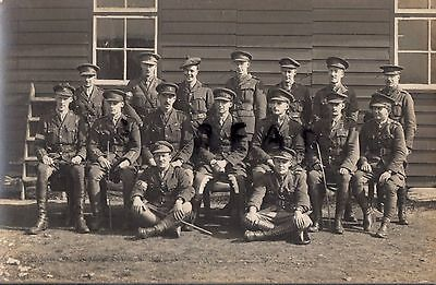 WW1 Officer group Mixed Regiments Signal ? School of Instruction in France
