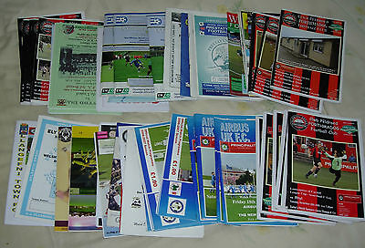 115 programmes from Welsh Leagues 2006-2010