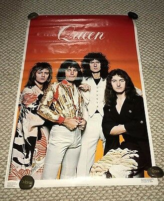 Large Head Shop Poster QUEEN Freddie Mercury 1976