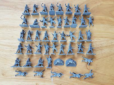 Airfix 1/72 WWII US Paratroops Plastic Figures x47