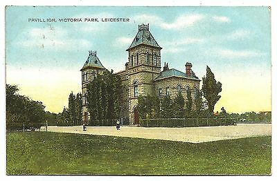 zx england leicestershire postcard english leicester victoria park