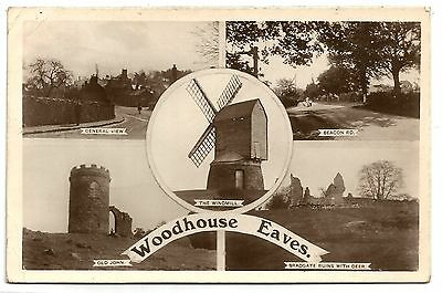 zx england leicestershire postcard english leicester woodhouse eaves windmill