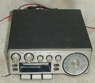 Vintage Pioneer Automobile Cassette Stereo Radio - Tested Working