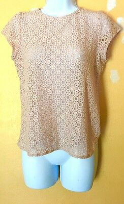 Women's Size Small English Laundry Short Sleeve Top