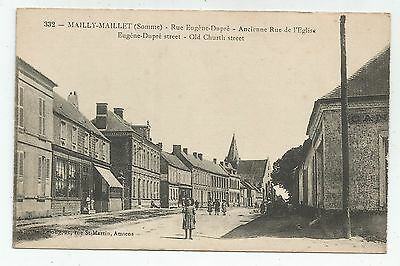 zx france postcard french carte postale francaise mailly maillet somme
