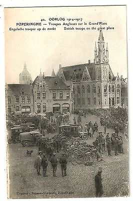 zx france postcard french carte postale francaise poperinghe military