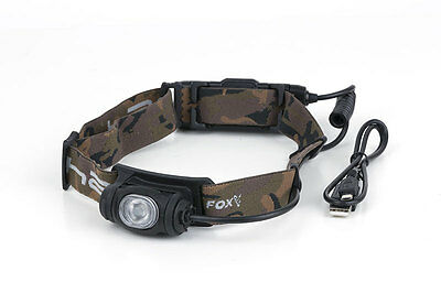 FOX NEW Halo AL350C Rechargeable Carp Fishing / Headlamp - 500 Lumens*  - CEI165