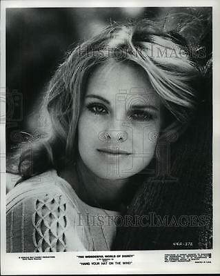 1969 Press Photo Angel Tompkins stars in Hang Your Hat on the Wind, on NBC.