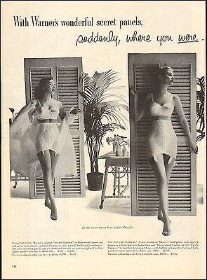 1953 Vintage ad Warner's Bras Girdles Corselettes`Sexy Models   Photo  (092116)