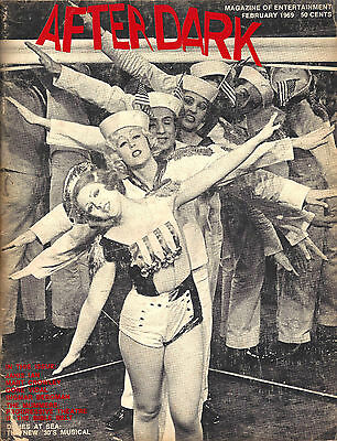 "Bernadette Peters ""DAMES AT SEA"" Mart Crowley ""BOYS IN THE BAND"" 1969 After Dark"