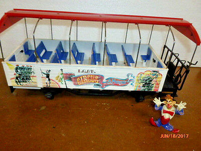 LGB Circus 3125 Passenger Observation Coach with Clown